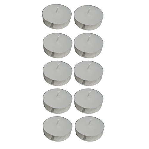 Atorakushon T-Lite Scented Smokeless White Tealight Candles - Pack Of 50