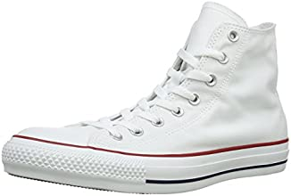 Converse Chuck Taylor Hi -  Sneaker unisex adulto - Bianco (optical white), 38