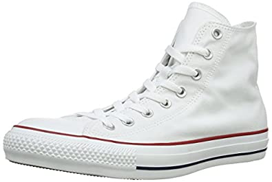 Converse Chuck Taylor All Star 015860-70-3 AM, Unisex - Erwachsene Sneakers, Weiß (Optical Weiß), EU 36
