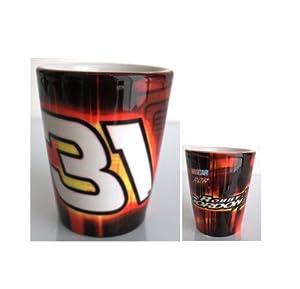 Nascar #31 Robby Gordon Ceramic Shot Glass by Nascar