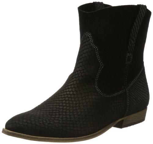 Tamaris Womens TAMARIS TREND Cowboy Boots Black Schwarz (BLACK 001) Size: 3 (36 EU)
