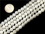 6mm Round gemstone natural moonstone beads strand 15""