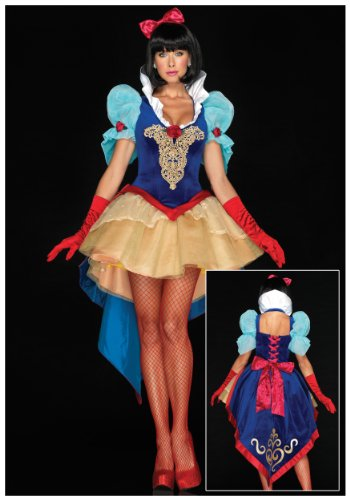 Leg Avenue Women's Deluxe Snow White Costume