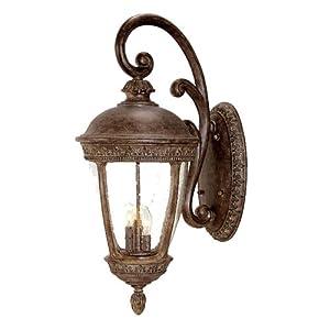 Acclaim Lighting 1222bc Fleur De Lis 3 Light Wall Lantern