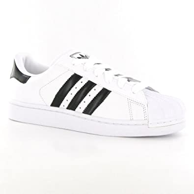 Adidas Superstar 2 White Black Womens Trainers Size 4 UK ...
