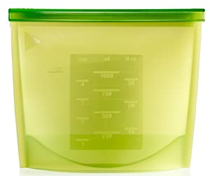 Lekue 1-Liter Fresh Bag, Green