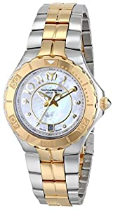 TechnoMarine Women's 714001 Sea Pearl Analog Display Swiss Quartz Silver Watch