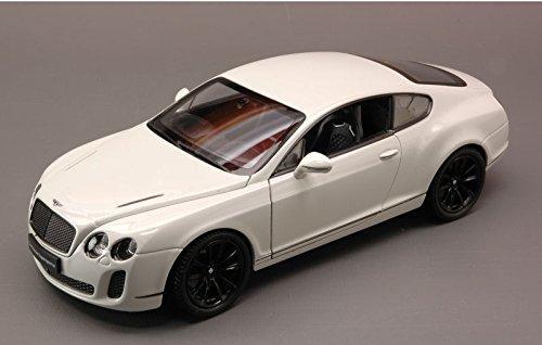bentley-continental-supersports-2010-white-124-welly-auto-stradali-modello-modellino-die-cast