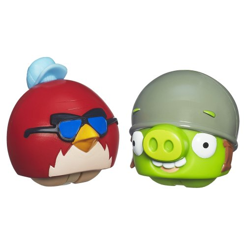 Angry Birds Playskool Heroes Angry Birds Go! Big Red Bird and Helmet Pig - 1