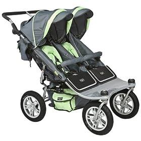 Valco Tri-mode Twin Stroller -Pistachio