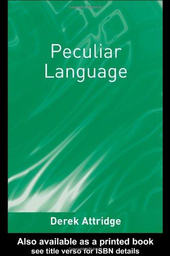 Peculiar Language