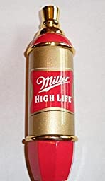 Miller High Life Shotgun Mini Pub Style Beer Tap Handle Keg Marker