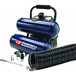 Campbell Hausfeld FP260200DI 2 Gallon Twin Stack Air Compressor Kit