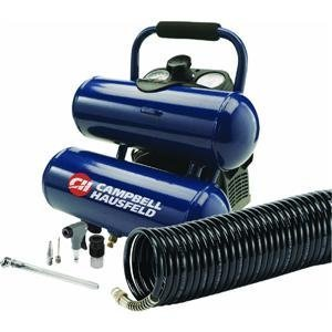 Campbell Hausfeld FP260200DI 2 Gallon Twin Stack Air Compressor Kit [Misc.]