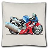 Personalised Koolart Honda CBR 600F Motorbike satin feel Cushion