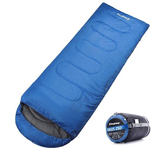 KingCamp 寝袋 シュラフ 封筒型