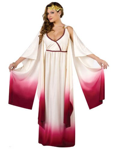 Adult-Costume Venus Goddess Of Love Md/Lg Halloween Costume
