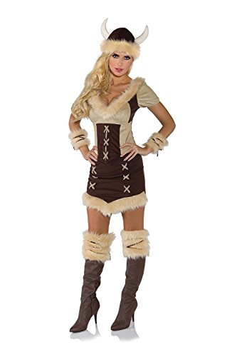 Underwraps Women's Viking Queen Costume