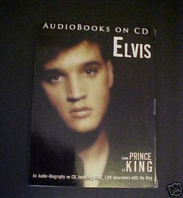 ELVIS From PRINCE To KING Biography 2007 Audiobooks CD Item number: 290136854097 - 1