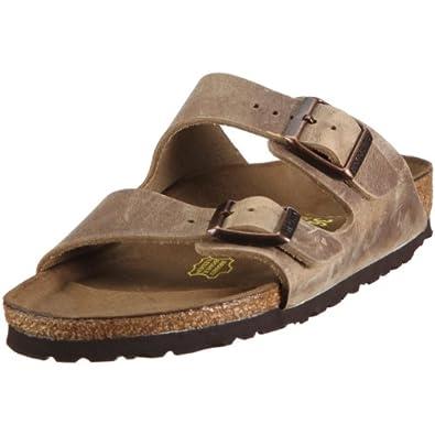 Birkenstock Unisex Arizona 2 UK2203 Tabacco Brown Slides Sandal 2 UK 35 EU