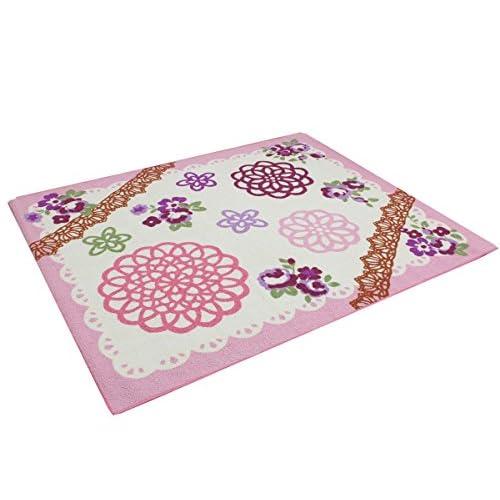 デスクカーペット「 チャーム 」【IT】ピンク(#9800821) サイズ:約110×133cm