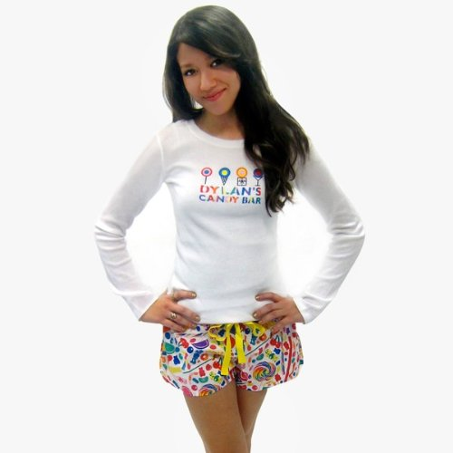 Dylan's Candy Bar Candy Spill Pajama Shorts - Women
