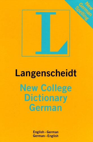 New College Dictionary German: English-German/German-English (Langenscheidt Standard Dictionaries)