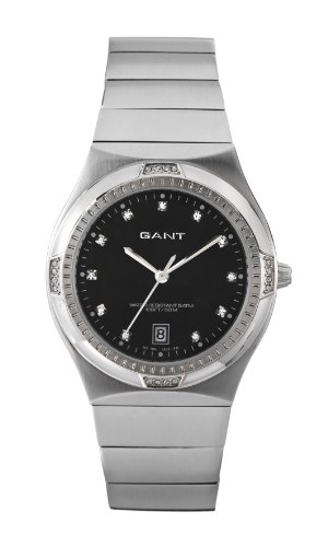 Gant W70193 - Reloj analógico para mujer de acero inoxidable negro