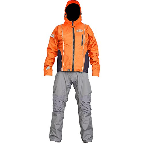 Ocean Rodeo Soul Breathable Drysuit, Medium King, Orange/Grey