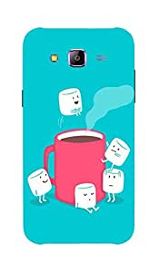 Back Cover for Samsung Galaxy A5 Coffee and sugar