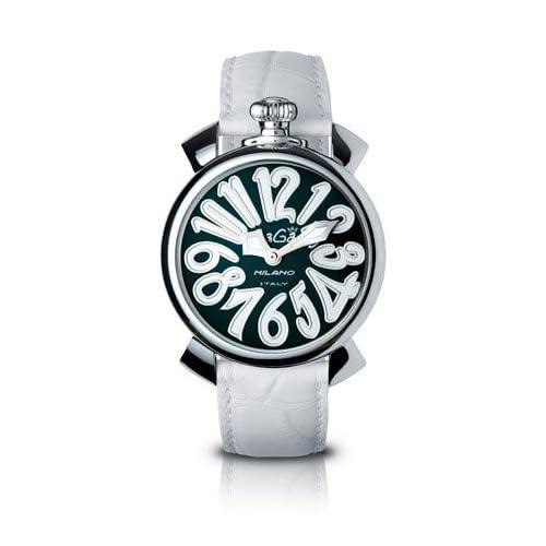 GAGA MILANO 5020.4 MANUALE 40MM ガガミラノ 腕時計 レザーベルト【並行輸入品】