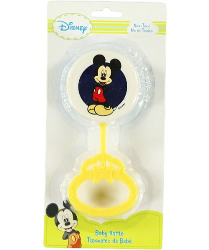 Disney Baby Hand Rattle - Mickey Mouse - navy, one size - 1