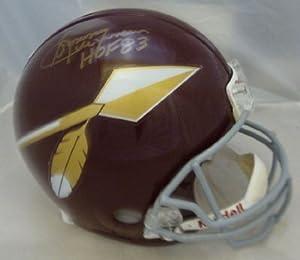 Sonny Jurgensen Autographed Washington Redskins Proline Helmet w