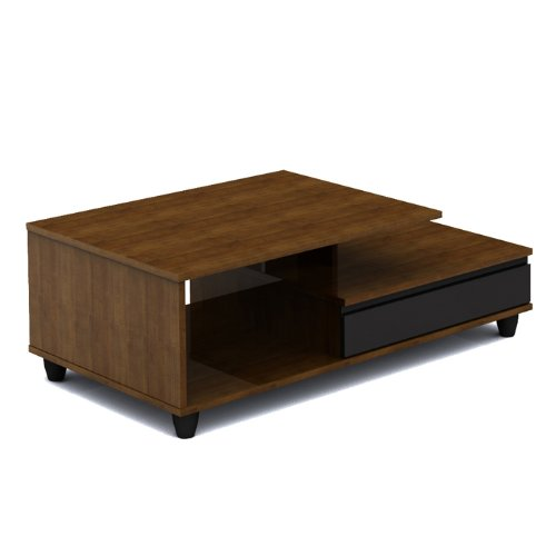 Buy low price nexera harmony coffee table in cinnamon for Free form wood coffee tables