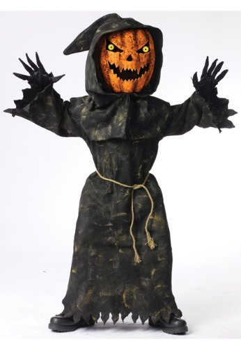 Bobble Head Pumpkin Costume – Child Costume