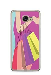 YuBingo Shopping Bags Designer Mobile Case Back Cover for Samsung Galaxy A7 2016