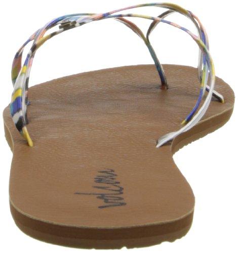 Volcom Women's New School Sandal Flip Flop,Art,6 M US