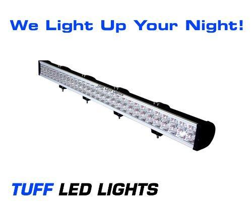 "Tuff Led Lights 50"" Inch Led Light Bar 180 Watt 10,000 Lumens Off Road, Utv, Atv, Jeep, Sand Rail, Tractor, Razor, Rzr, Yamaha Rhino , Polaris Ranger 4 X 4"