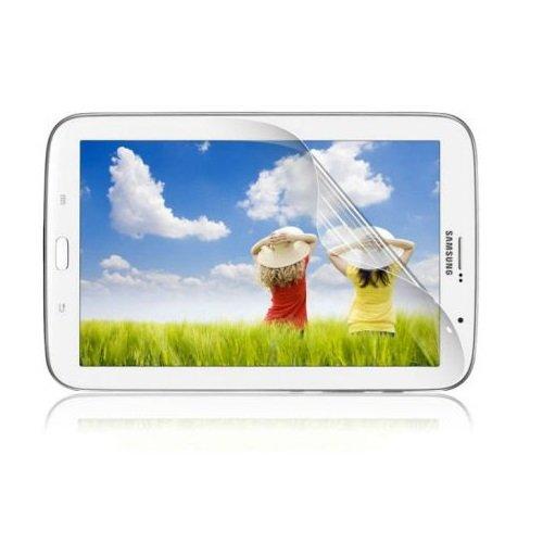 Saxonia. 1x Displayschutzfolie für Samsung Galaxy Tab 3 7.0 GT-P3200 P3210 SM-T210 T211 Kristallklar in bester Qualität inkl. Mikrofasertuch von Saxonia - Klar