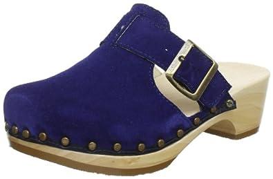 Berkemann City-Toeffler 00437-308, Damen Clogs & Pantoletten, Blau (royalblau), EU 36 1/3 (UK 3.5)