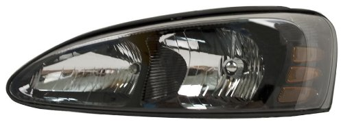OE Replacement Pontiac Grand Prix Driver Side Headlight Assembly Composite (Partslink Number GM2502227) (04 Grand Prix Headlight Assembly compare prices)