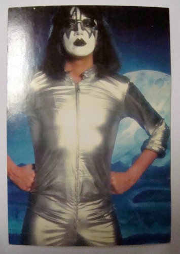 Kiss~ Kiss Postcard~ Gene Simmons, Paul Stanley,