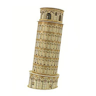Han 3D Puzzles The Leaning Tower of Pisa Model for Children and Adult Educational Toys(8PCS)