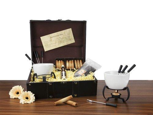 DasBesondereGeschenk 2K008 Coffret cadeau fondue à chocolat