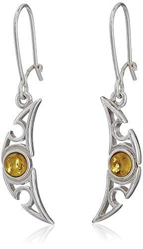 sterling-silver-honey-amber-small-crescent-shape-earrings