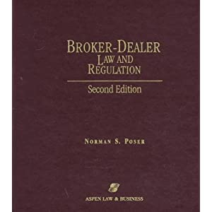 Broker dealer law and regulation