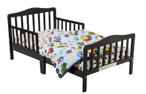 Big Save! Dream On Me Classic Toddler Bed - Black