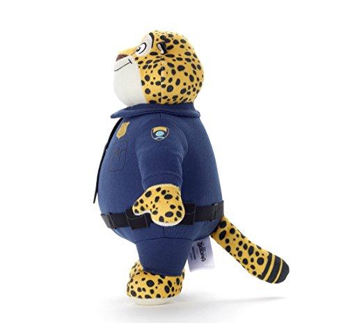 zootopia疯狂动物城豹警官公仔高25cm