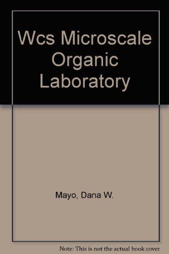 Wcs Microscale Organic Laboratory