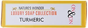 ON & ON Nature's Wonder Luxury Soap Collection Turmeric - 75 Grams